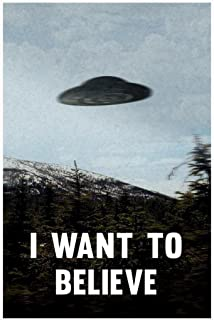 I Want to Believe TV Cool Huge Large Giant Poster Art 36x54