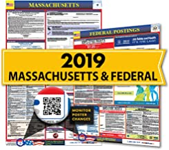 Osha4less Labor Law Poster - State and Federal, Massachusetts (MA-CB)