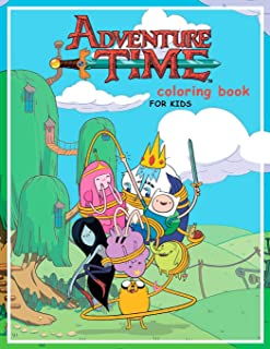 Adventure Time Coloring Book for kids: 20 coloring pages of your favourite characters from The Land of OOO