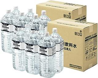 [2CS] 志布志の自然水 非常災害備蓄用 (2L PET×6本)×2箱 (5年保存水)