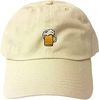 Adult Beer Mug Embroidered Dad Hat
