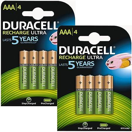 Duracell Aaa Hr03 Rechargeable Batteries Duralock Pre Elektronik