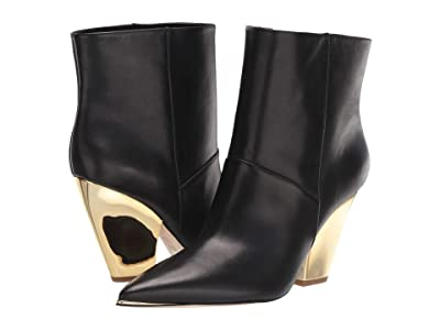 Tory Burch Lila 95 mm Ankle Bootie (Perfect Black) Women