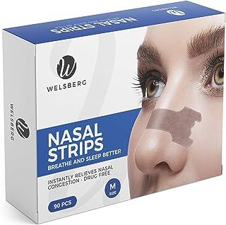 Welsberg 90x unités de patchs nasaux contre le ronflement bandelettes nasales..