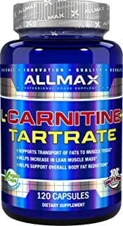ALLMAX Nutrition L-Carnitine + Tartrate, 120 Capsules