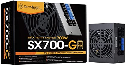 SilverStone Technology SST-SX700-G 700W SFX Fully Modular 80 Plus Gold PSU with Improved 92mm Fan and Japanese Capacitors.