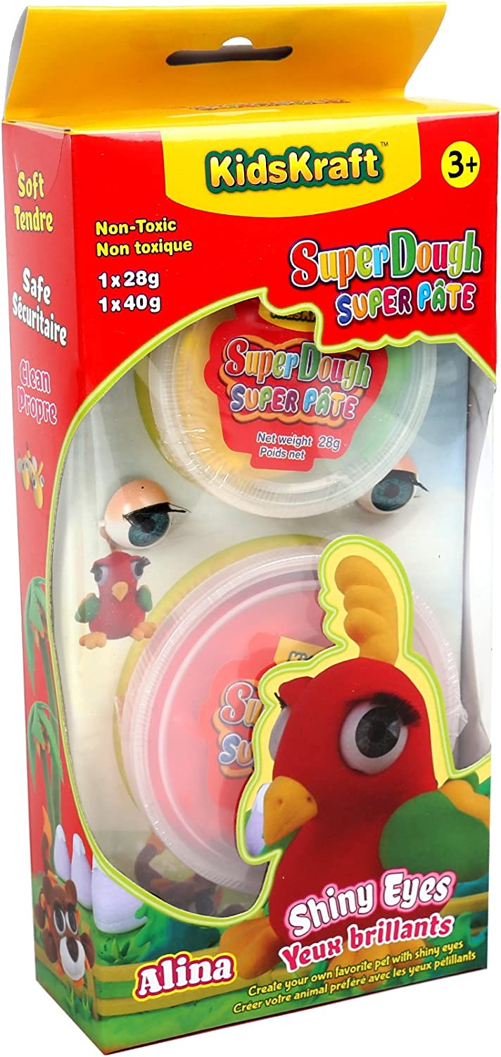Time 4 Crafts Shiny Seasonal Wrap Introduction Eyes Super Dough 1.75 x 10 inches 4.25 El Paso Mall R