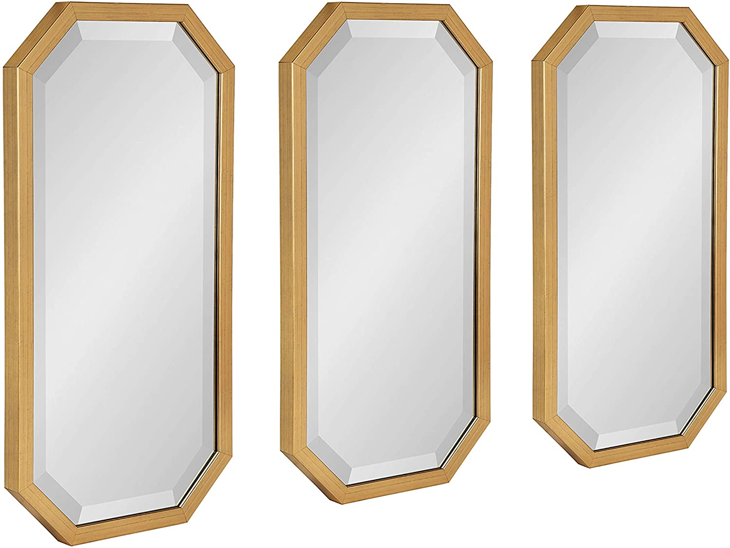 Kate and Laurel Laverty Modern Decorative Octagon Wall Mirror Se Finally free popular brand