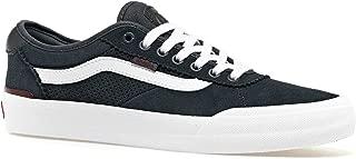 Vans Chima Pro 2 Skateboard Sneakers (Perf) Ebony/Port Royale VN0A3MTIVF0