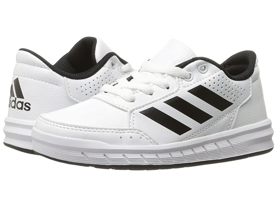 adidas Kids AltaSport (Little Kid/Big Kid) (White/Black/White) Kids Shoes