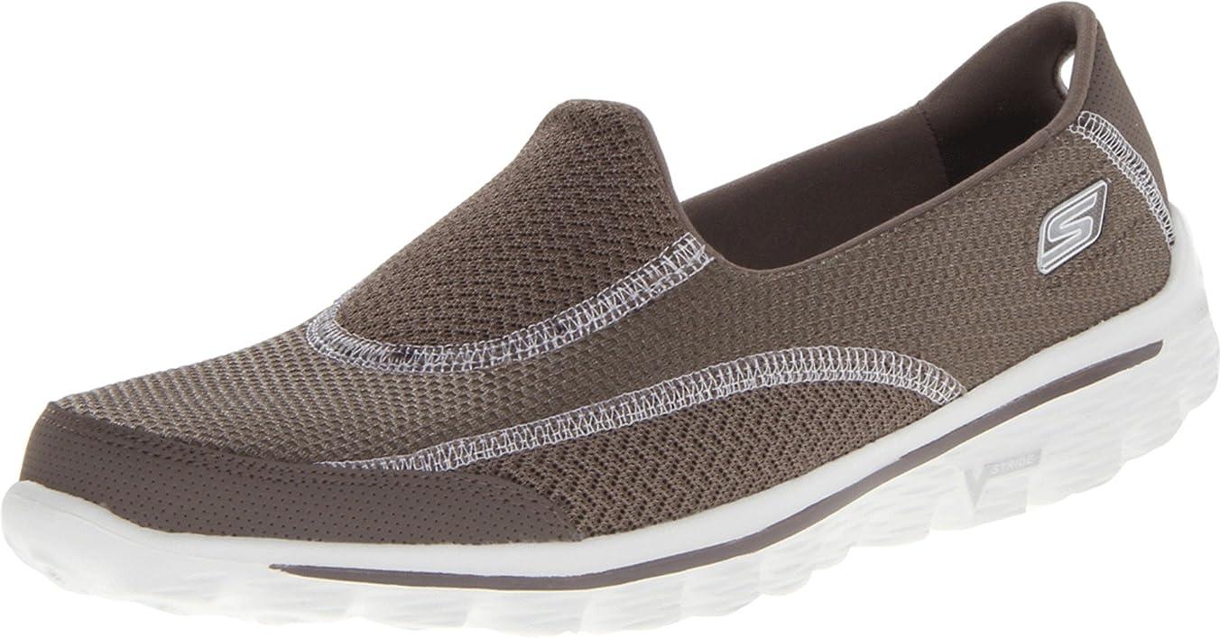 スローむしゃむしゃ腐敗した[スケッチャーズ] 靴 ? Taupe 褐色 Gowalk 2 Spark 37