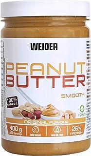 comprar comparacion Weider Mantequilla De Cacahuete natural sin azúcares añadidos y aceite de palma, 400g