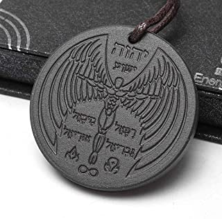 Anti EMF Radiation Protection Pendant Tourmaline 2300 Negative Ions Far Infrared & Scalar Energy Volcanic Lava Reverse Aging.Joint Pain Blood Circulation