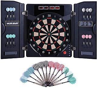 Electronic Dartboard Professional, Dart Board-Games 18 matcher och 159 alternativ med 6 säkerhetsdart