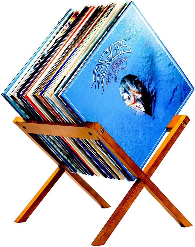 The HHC Vinyl Record Holder Rack - Designer Vinyl Record Storage