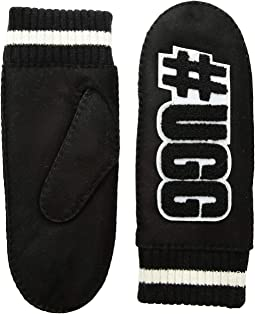 #UGGLIFE Patch Water Resistant Sheepskin Mitten