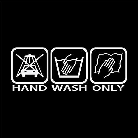 Folien Zentrum Hand Wash Only Farbwechsel Flip Flop Shocker Hand Auto Aufkleber Jdm Tuning Oem Dub Decal Stickerbomb Bombing Fun Turbolader Auto
