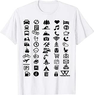 Travel Icon Translator T-Shirt