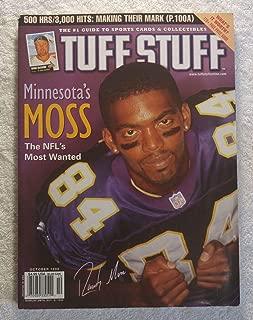 Randy Moss - Minnesota Vikings - Tuff Stuff Magazine - October 1998