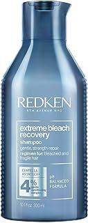 Redken Extreme Bleach Recovery Shampoo Professionale   Capelli Estremamente Danneggiati da Decolorazione   Dona Forza, Res...