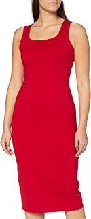 A|X Armani Exchange Women's Heavy Ponte Sheath Dress, Red Liquorice, S