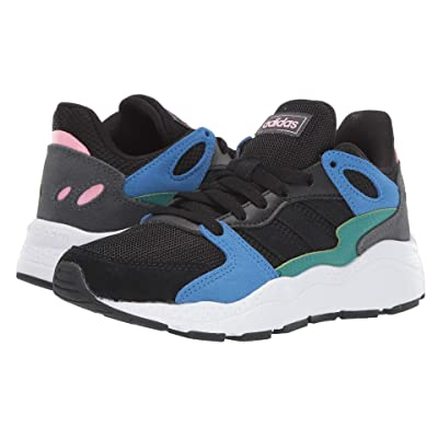 adidas Kids Chaos (Big Kid) (Black/Black/True Blue) Kids Shoes