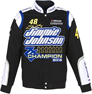 Jh Design Jimmie Johnson 7 Times Sprint Cup Champion Jacket Size 4XLarge