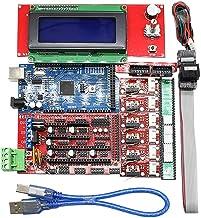 Almencla Kit Dimprimante 3D Mega 2560 R3 RAMPS 1.4 Et 4 X A4988 Pilote Pour Arduino RepRap
