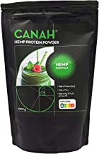 Natural Hemp Protein Powder by Canah 1 kg aE High in Protein Omega 3 Amino Acids Minerals Magnesium Phosphorus Iron and Zinc – Vegan Protein Superfood Cold Processed Estimated Price : £ 11,90
