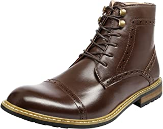 Bruno Marc Men's Brogue Dress Boots Formal Derby Ankle Boots BERGEN-03