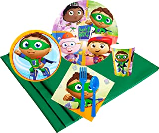 BirthdayExpress Super Why Party Supplies - Party Pack for 24