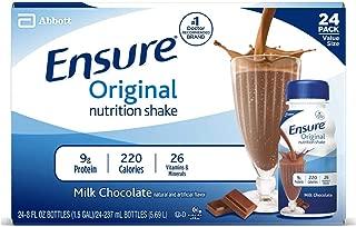 Ensure Original Milk Chocolate, 8 Ounce Recloseable Carton, Abbott 64937 - Case Of 24