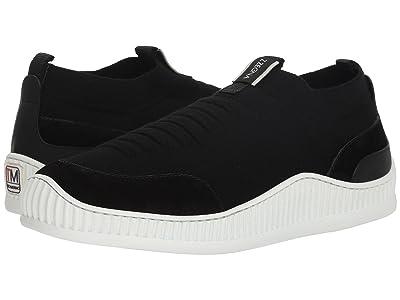 Z Zegna Techmerino Wave Slip-On Sneaker (Black) Men