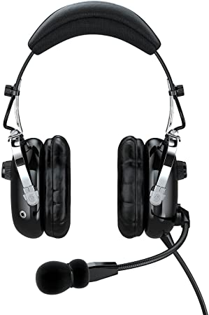 Faro G2 ANR (Active Noise Reduction) Premium Pilot Aviation Headset with Mp3 Input