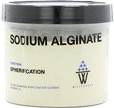 WillPowder Sodium Alginate, 16-Ounce Container