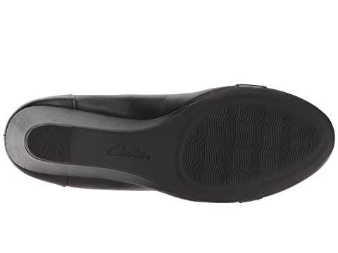 Black ComboBlack Leather Poppy Clarks Flores zqxpEE