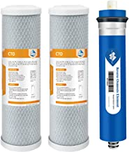 GXRM10RBL Filter 50 GPD IPW Industries Inc Compatible GE SmartWater Reverse Osmosis RO Set GXRM10G