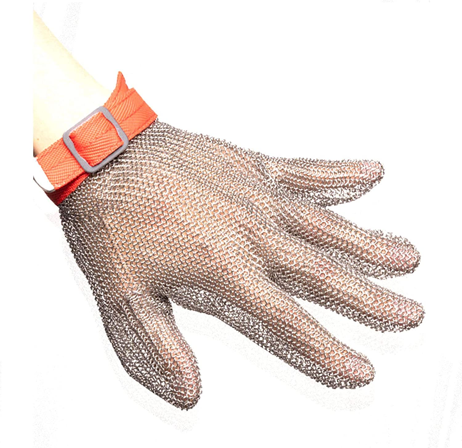 Steel New popularity Wire Gloves Stainless Louisville-Jefferson County Mall Wor Anti-Cut mesh
