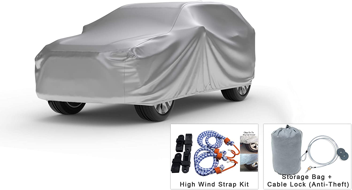 Platinum Shield Weatherproof SUV Cover 2018 with 低廉 奉呈 Compatible Volv