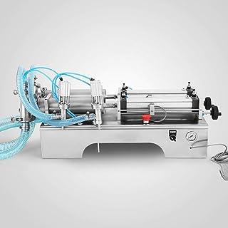 Mophorn Machine de Remplissage Liquide de la Machine de Remplissage Liquide 100-1000ML avec Deux Becs de Remplissage de Ha...