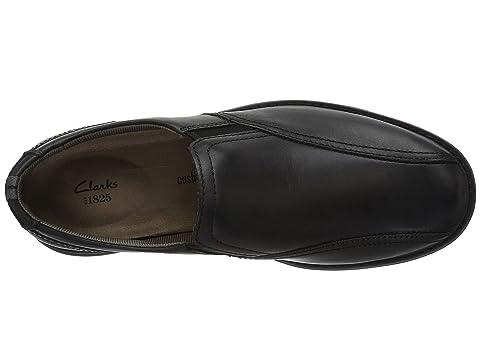 Cushox negro Clarks Clarks Cushox cuero Step Step aUvP1Sqxw