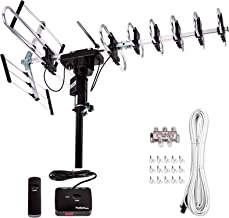 Five Star [Newest 2020] Outdoor Digital Amplified HDTV Antenna – up to 200 Mile..