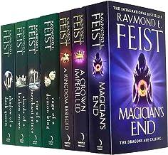 Raymond E. Feist Serpentwar Saga & Chaoswar Saga Series 7 Books Collection Set (Kingdom Besieged, A Crown Imperilled,Magic...