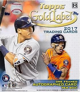 2017 gold label baseball