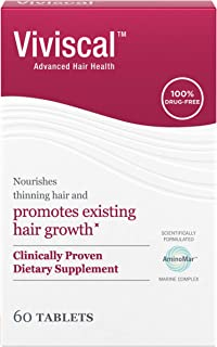 Viviscal Hair growth supplement for women, 60 Count