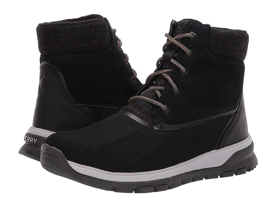 Sperry Seamount Duck Boot (Black) Men