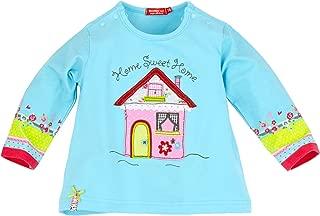 BONDI 86260 Maglietta a Mezzaluna con Motivo a Righe e Principessa