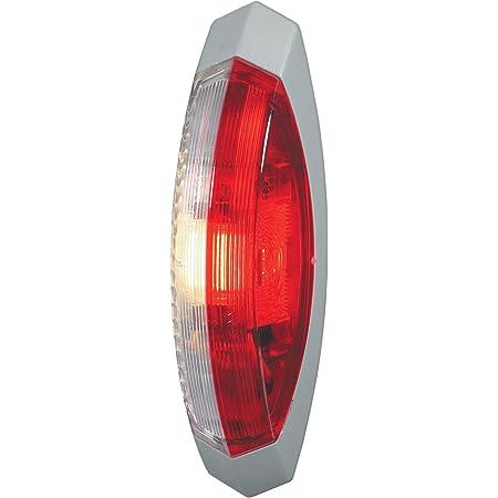 Hella 2xs 005 020 001 Umrissleuchte T4w 24v Lichtscheibenfarbe Glasklar Rot Weiß Anbau Einbauort Links Oben Rechts Seitlicher Anbau Auto
