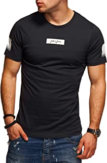 Jack /& Jones T-shirt o-neck shirt Uomo Maglietta a Maniche Corte Camicia Tempo Libero Maglietta