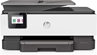 HP OfficeJet Pro 8022 All-in-One Wireless Printer, Instant Ink Ready with 2 Months Trial Included, Print, Scan, Copy from Your Phone and Voice activated (Compatible with Alexa and Google Assistant)